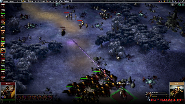 Elemental Fallen Enchantress Gameplay Screenshot 3