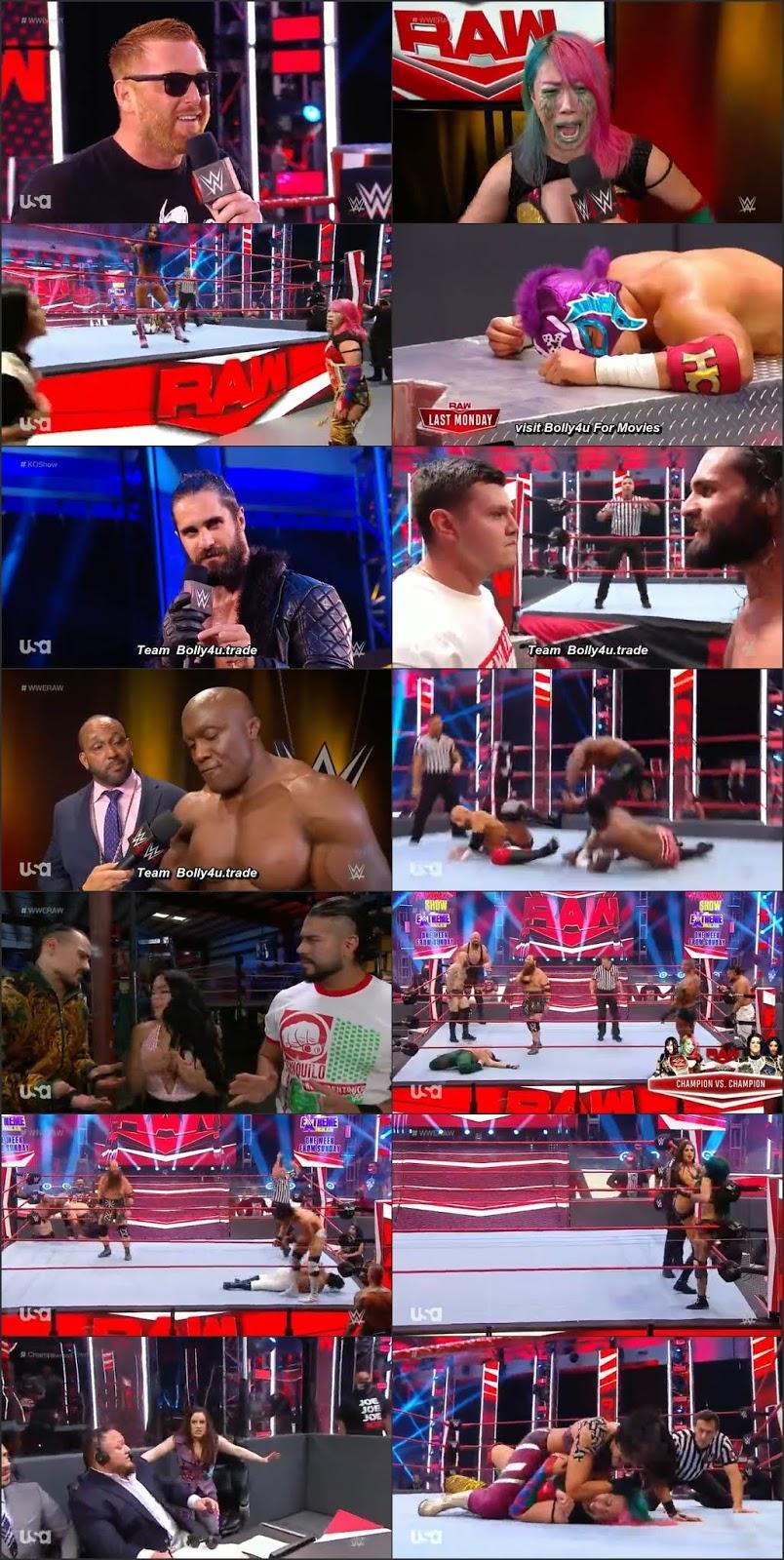 WWE Monday Night Raw HDTV 480p 350Mb 06 July 2020 Download
