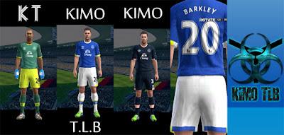 PES 2013 Everton FC Full GDB 2016-17 By KIMO T.L.B 19