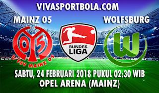 Prediksi Mainz vs Wolfsburg 24 Februari 2018