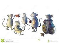 Ratones bailando