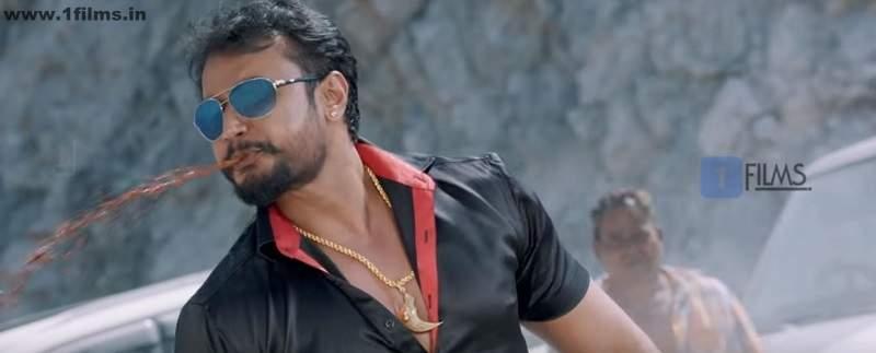 Darshan from Kannada movie Jaggu Dada still
