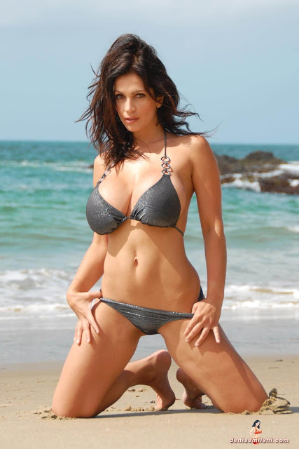 Denise-Milani-Beach-Silver-bikini-hottest-photoshoot-pics-20