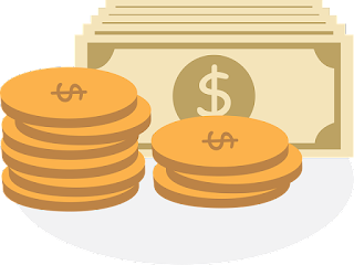 Gold coins money