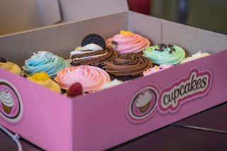 Box of Cupcakes at the Office
