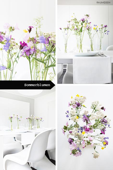 Mit Sommerblumen gestalten