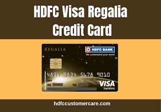 HDFC Regalia Credit Card