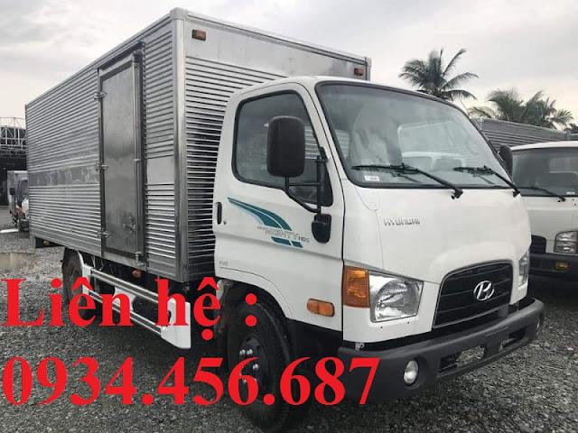 Xe tải Hyundai HD110sp thùng kín