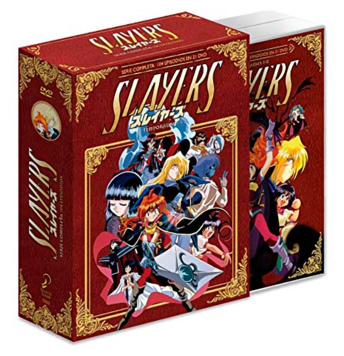 Slayers: La serie completa - Selecta Visión