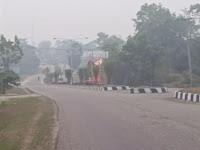 Kabut Asap, Kualitas Udara Masuk Kategori Tidak Sehat