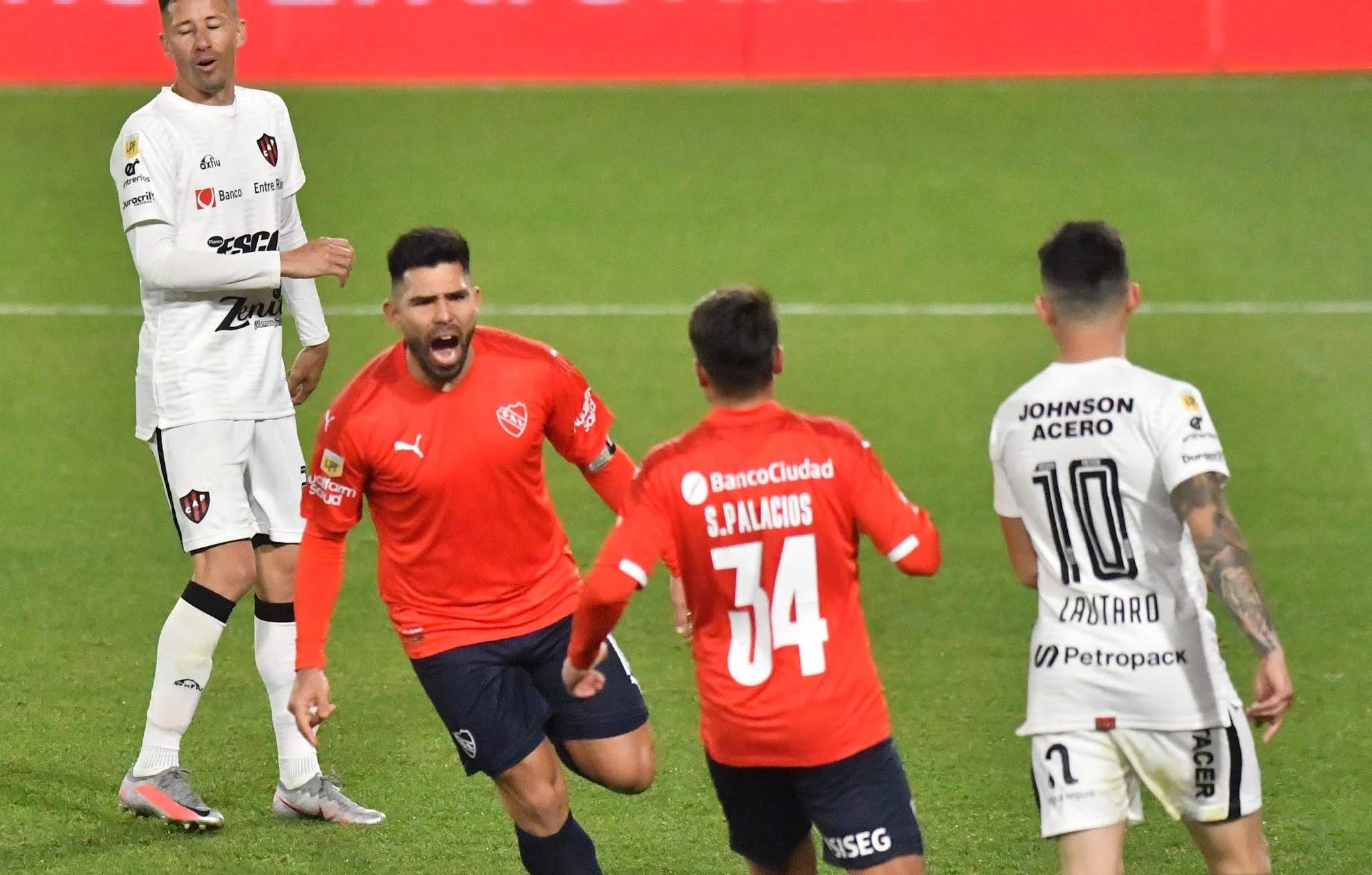 Independiente venció a Patronato y no solo se metió en los primeros lugares del torneo, sino que además se metió en la clasificación para la Libertadores 2022.