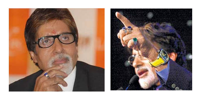 See The Latest Jewellery Worn By Famous People Amitabh