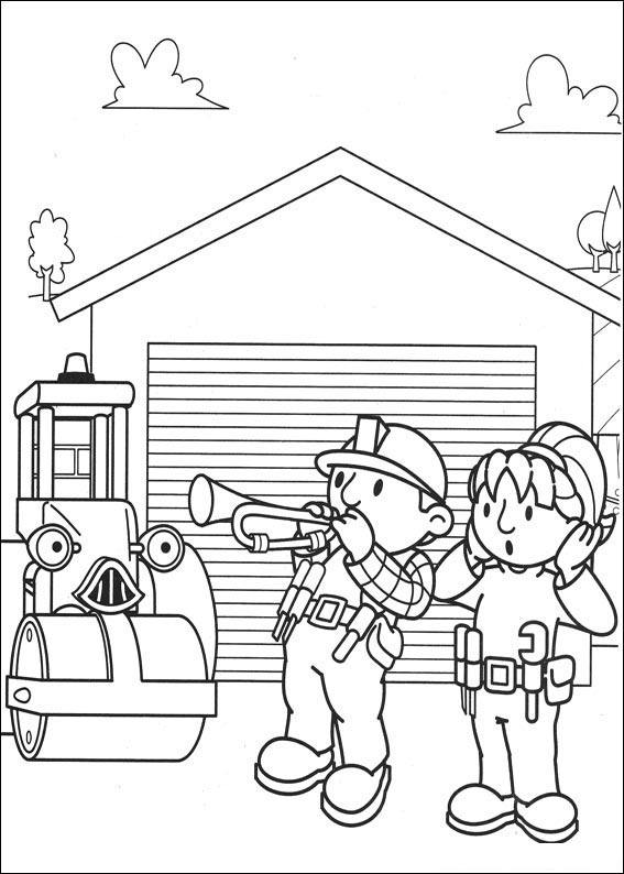Top 10 Free Printable Bob The Builder Coloring Pages Online | 794x567