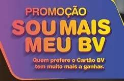 Cadastrar Promoção Cartão BV Sou Mais BV - 1 Mil Reais Compras Ponto Frio ou Shoptime