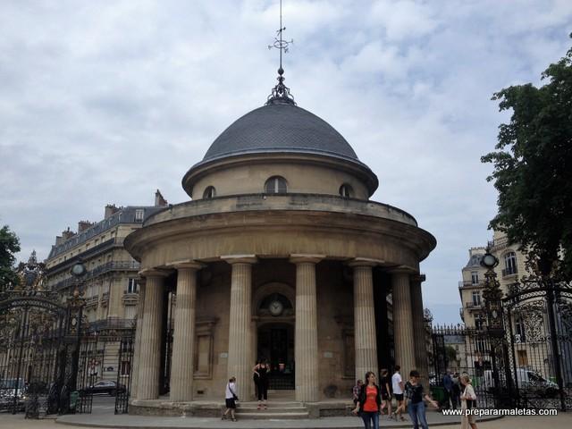 Parc Monceau en París