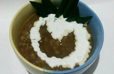 Resep bubur kacang hijau gula merah kental