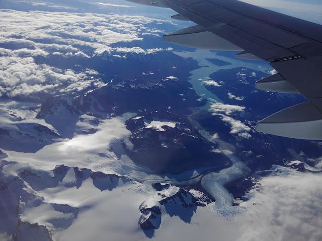 Glaciar Bravo y Lago O'Higgings