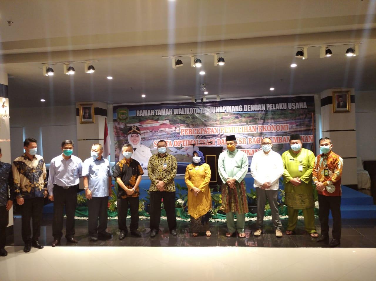 Walikota Tanjungpinang Menggelar Silaturahmi dan Rama Tamah Dengan 50  Para Pelaku Usaha