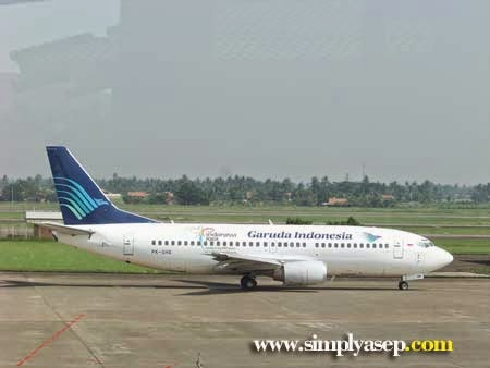 Garuda Indonesia take off