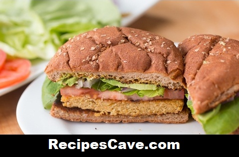 Carrot & Chickpea Veggie Burger Recipe