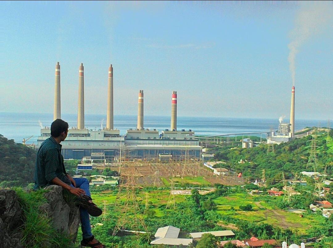 Bukit Teletubbies Kembang Kuning di tengah kota Cilegon