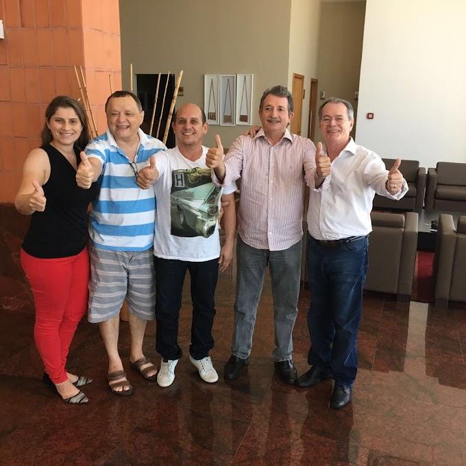 Fechado: Magno, Levi, Paulo Neto e Talvane Confirmam Unidade para as Eleições 2016