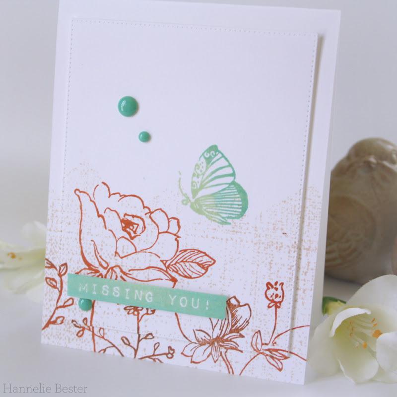 Altenew botanical garden stamp set