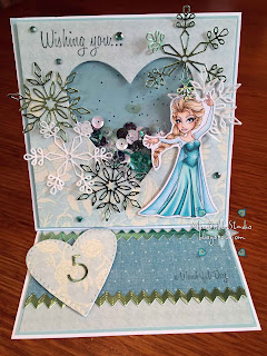 Sassy Studio Designs Let It Go Elsa
