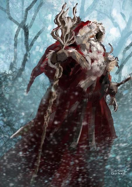 Aventura de Navidad para Dungeons & Dragons - La Frontera del Invierno - El Ermitaño