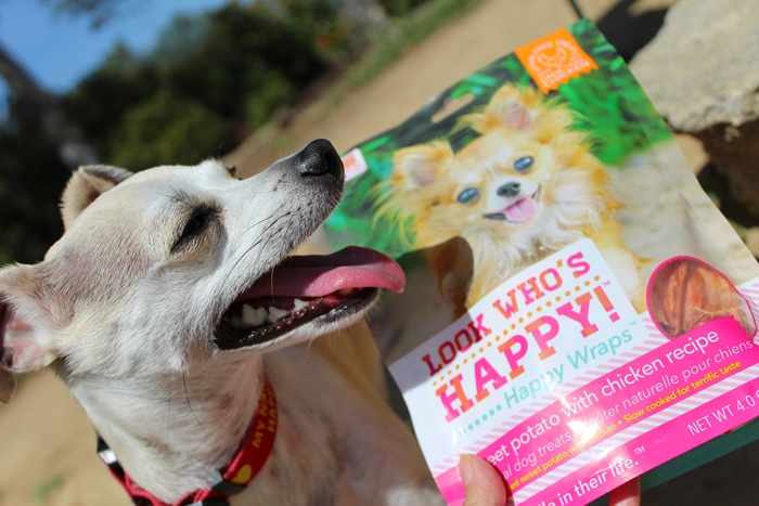 Look Who's Happy All Natural Dog Treats Review
