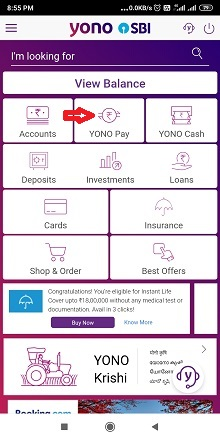 How to add beneficiary in Yono SBI