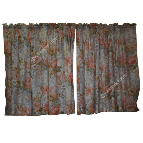 Flowered Kitchen Curtains Available in Port Harcourt, Nigeria