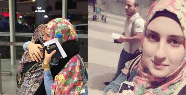 عروس لبنانية غادرت بلدها بالامس بالرغم من احساسها انها لن تعود ! شاهدوا كيف كان مصيرها؟!