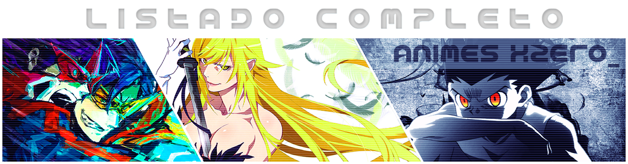 Lista xZero - Digimon Adventure | 54/54 | BD | Mega