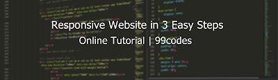 Responsive Website in 3 Easy Steps