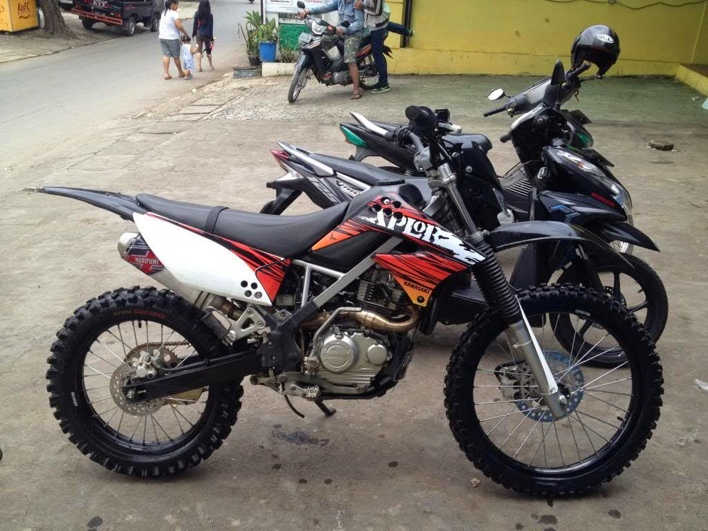 Modifikasi Motor Trail Jadul Supra Fit Bebek Fiz R Klx Ktm Adventure