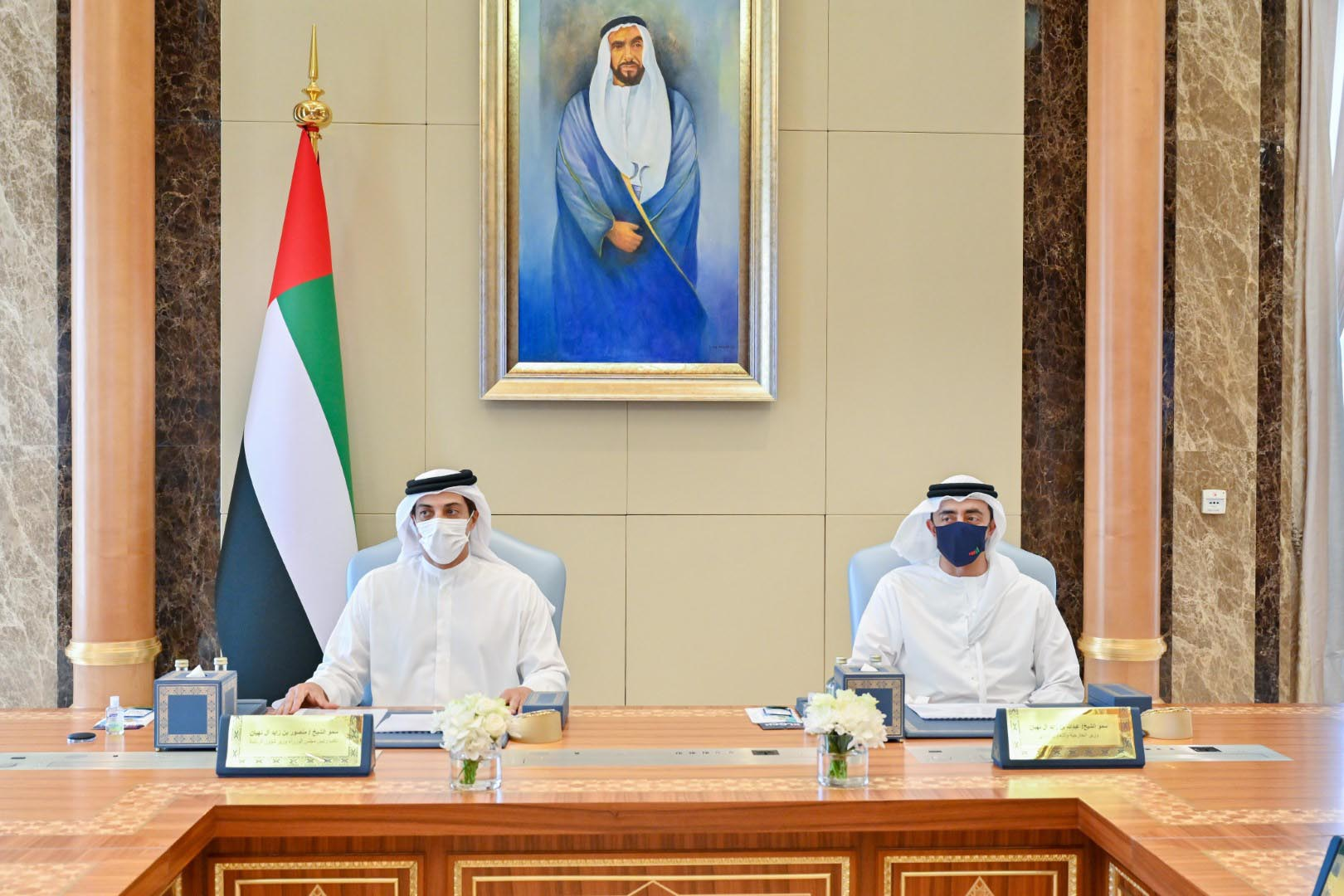HH Sheikh Mansour chairs General Budget Committee meeting