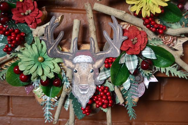 Christmas Treasure_Rustic Christmas Wreath_Denise_20 Dec 02