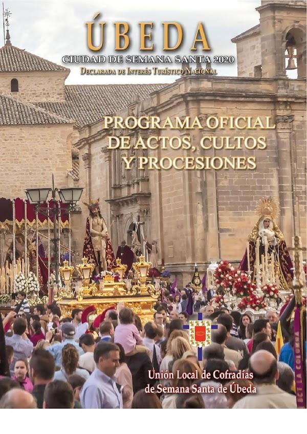 Horarios e Itinerarios Semana Santa Úbeda (Jaén) 2020