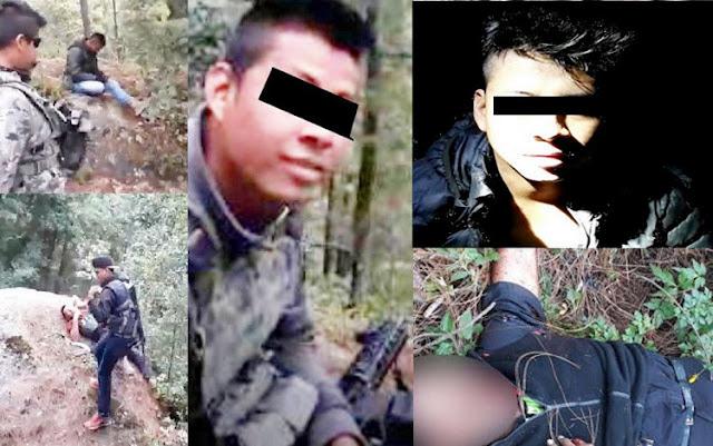 """(VIDEO) Detienen a """"El Largo"""" sicario de La Familia Michoacana y autor de la ejecución y emboscada en la masacre de 4 policías en EdoMex."""