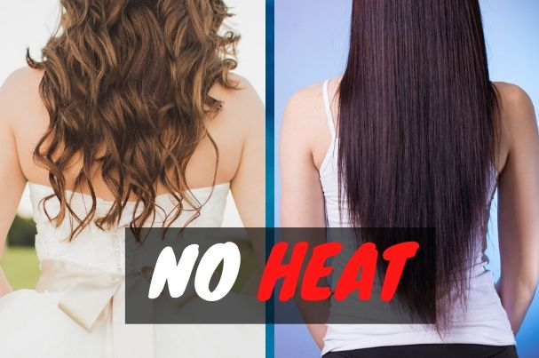 How to Make Your Hair Straighter Without a Straightener