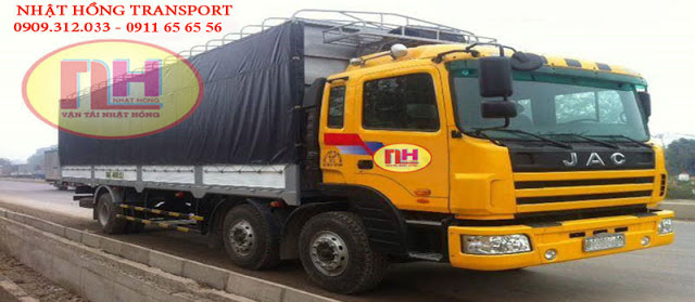 xe tải chuyển hàng đi Nha Trang