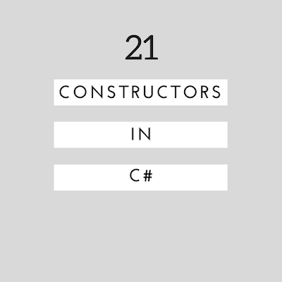 what are constructors and types of constructors