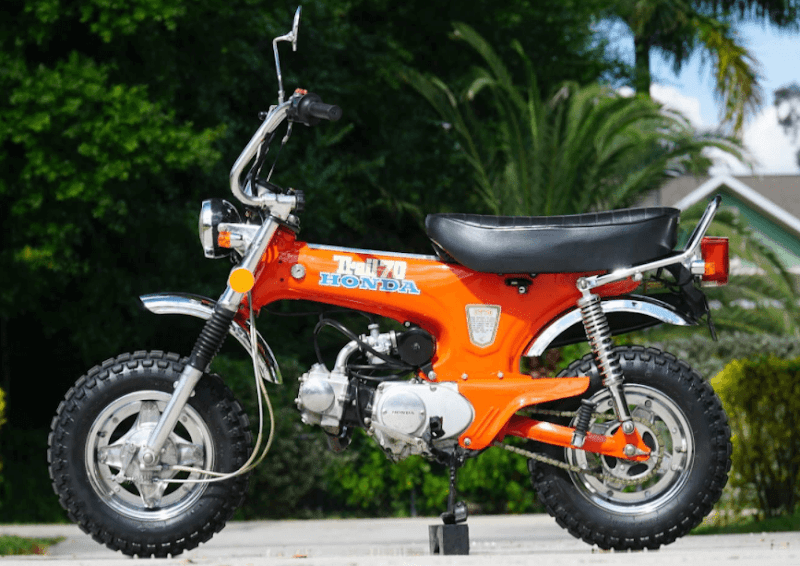 Honda CT70 Specifications, Review, Top Speed, Picture, Engine, Parts & History