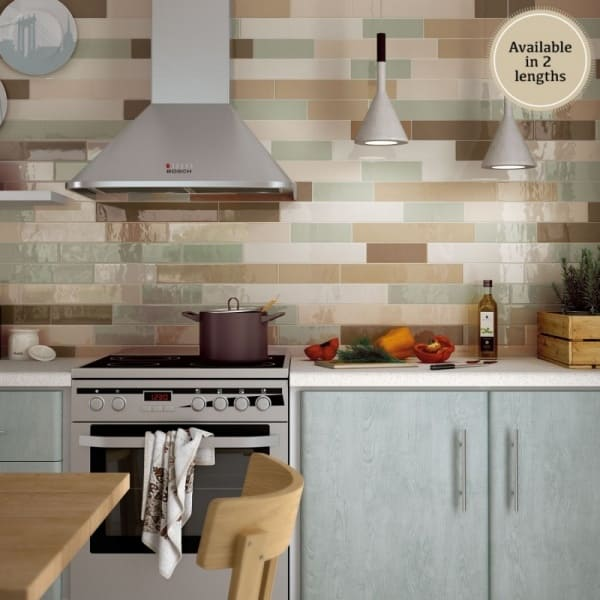 What is the best modern kitchen tile colors?