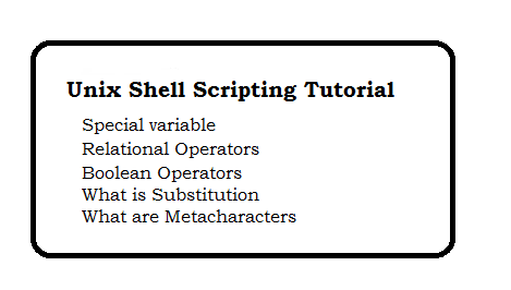 Unix Shell Scripting Tutorial - page 2