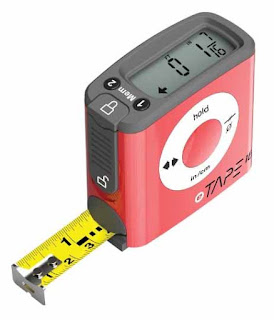 A digital tape measure is a fun gift idea for the man in your life