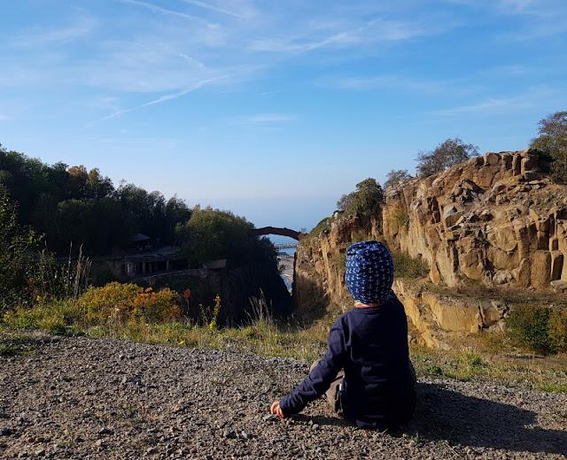 Träumen von Bornholm: 10 Dinge, nach denen wir uns sehnen. Auf unserer Bornholmer Bucket List: Klettern im Steinbruch von Vang!