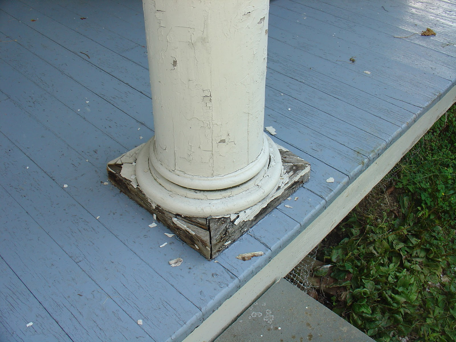 Turned Porch Posts