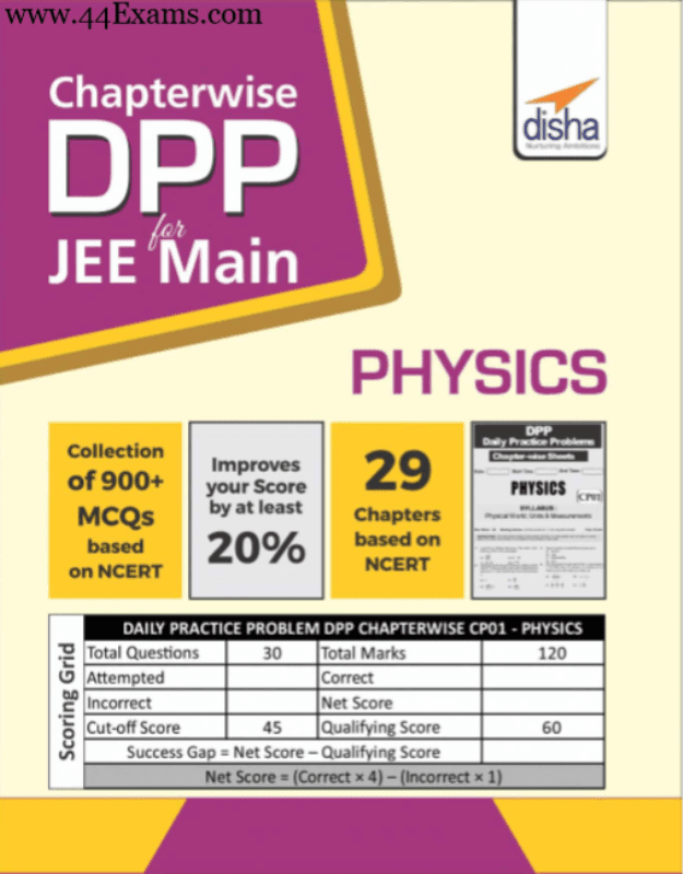 Disha-Physics-Practice-Set-Chapter-Wise-For-JEE-Main-Exam-PDF-Book